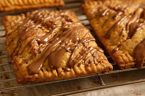 S'mores Pop Tarts - could put choc chips with marsh, or fluffernutter