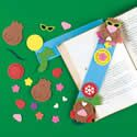 Groundhog Day Bookmark Craft Kit. Groundhog Day craft ideas for kids.  http://www.apples4theteacher.com/holidays/ground-hog-day/kids-crafts/groundhog-day-bookmark.html