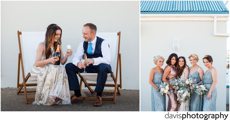 deck chair couple