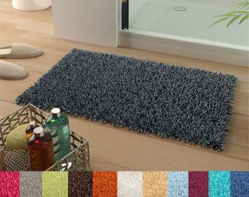 tapis de bain pur coton longues mèches - 1500 g/m2 - Becquet