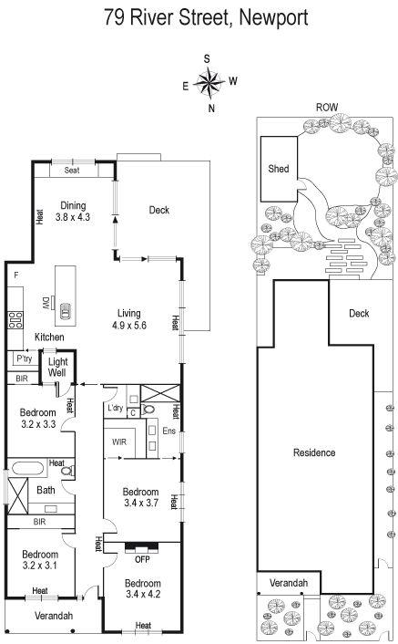 79 River Street, Newport, Vic 3015 - floorplan