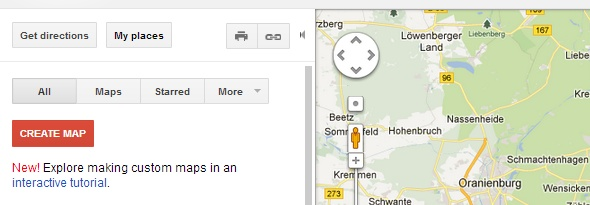 create google maps of your own