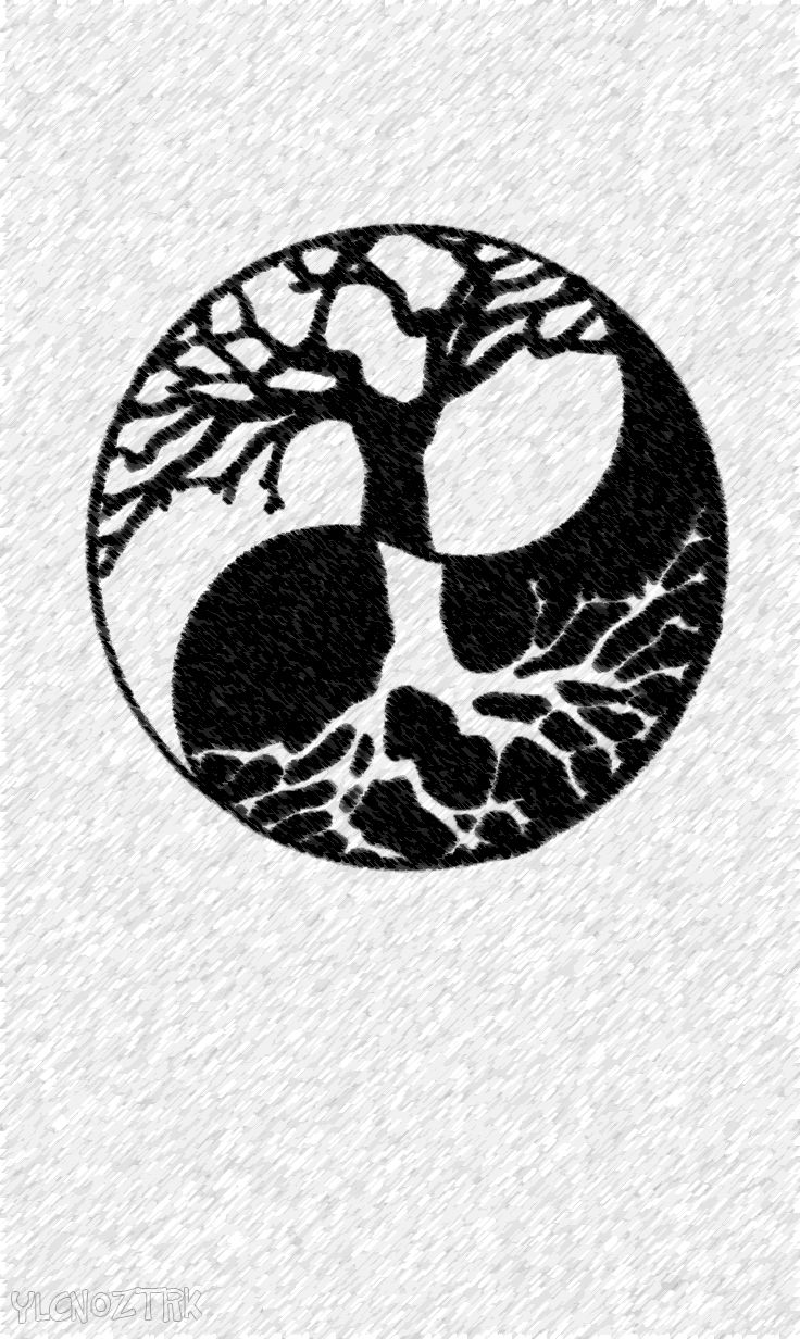 49 best images about ying yang on pinterest cool things to draw yin yang meaning and tree of life. Black Bedroom Furniture Sets. Home Design Ideas