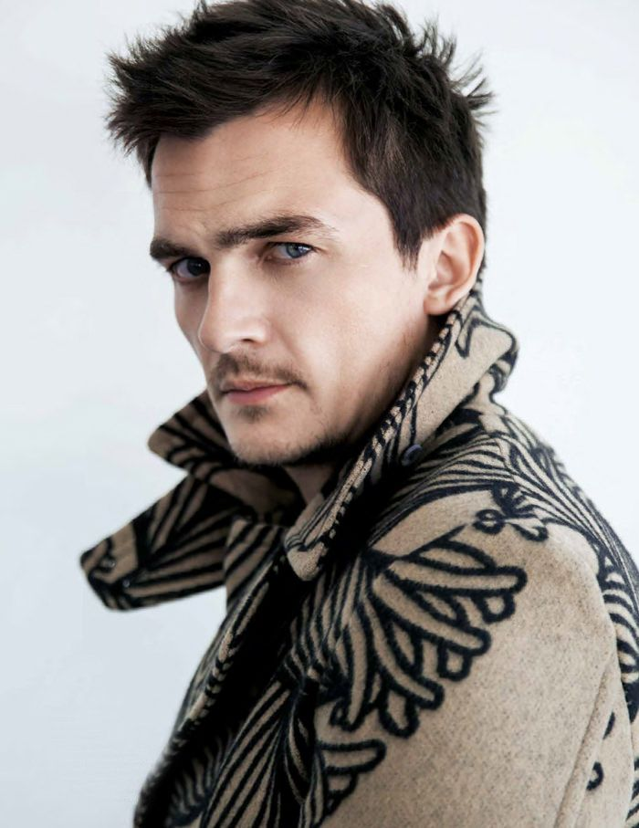 RUPERT FRIEND FOR DA MAN MAGAZINE