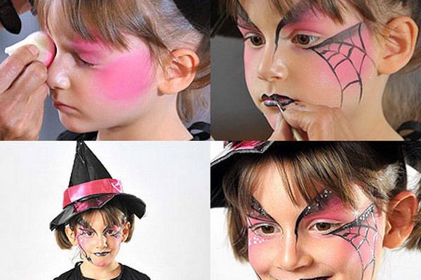 maquillaje infantil de halloween - Buscar con Google