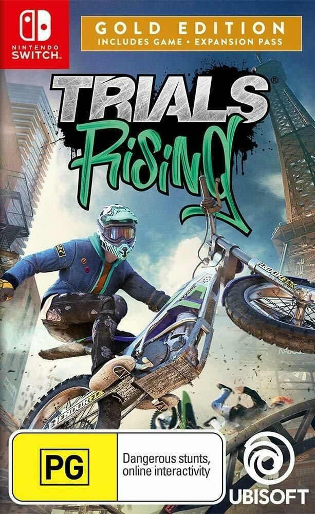 Trials Rising Gold Edition Motocross Dirt Bike Racing Stunt Game