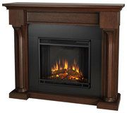 Real Flame - Verona Electric Fireplace - Chestnut Oak