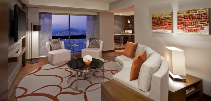 Grand Hyatt San Francisco offers amazing views of the city and San Francisco Bay.
