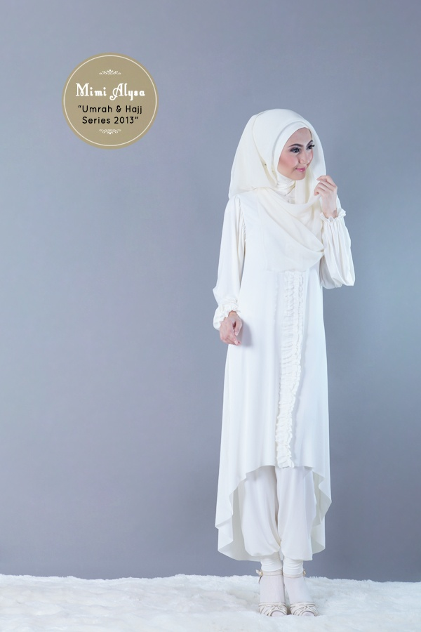 "#Mimi Alysa - ""Shafa Tunic Set"" - Umrah and Hajj Series 2013"