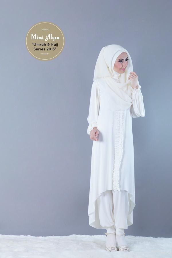 "#Mimi Alysa - ""Shafa Tunic Set"" - Umrah and Hajj Series 2013"