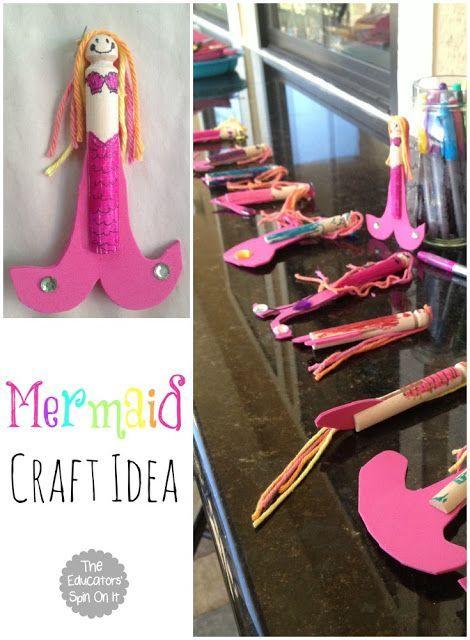 Diese Meerjungfrauen sind bezaubernd! Fabulous DIY Ozean Themed Birthday Party Dekoration …  – Real Crafty Kids