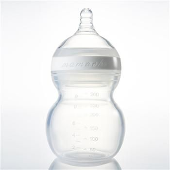 Squishy Baby Bottles : Mamachi Baby Bottles are the world s only 100% silicone bottles - soft and squishy and sized ...
