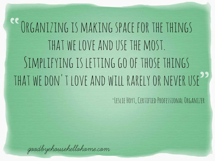 19 best decluttering organised quotes images on pinterest organisation declutter and - Important thing consider decluttering ...