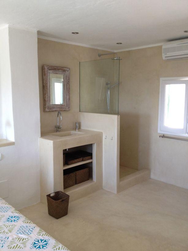 Badkamer in een huis in Ibiza