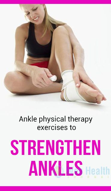 Rehabilitating your ankle should be done slowly and carefully. #healthy_living