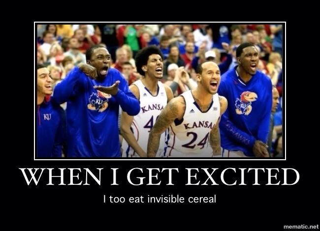 BAHAHA great sports meme! #Jayhawks