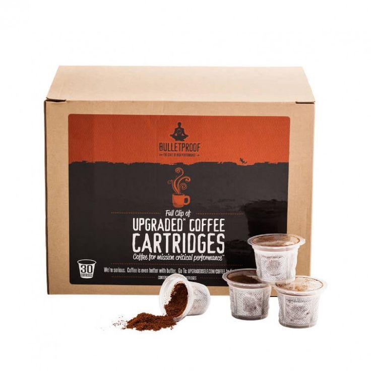 Bulletproof Upgraded Coffee Cartridges