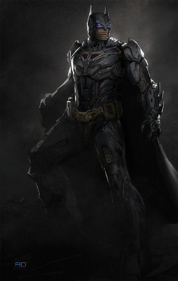 sci fi batman by andrew domachowski batman pinterest
