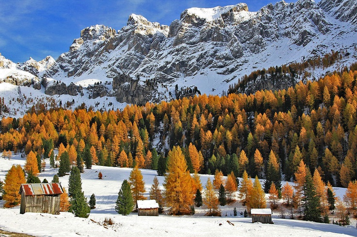 Dolomites in Autumn colors