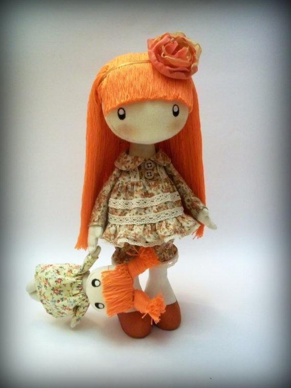 Doll Lucy by DollsLittleAngels on Etsy, $115.00