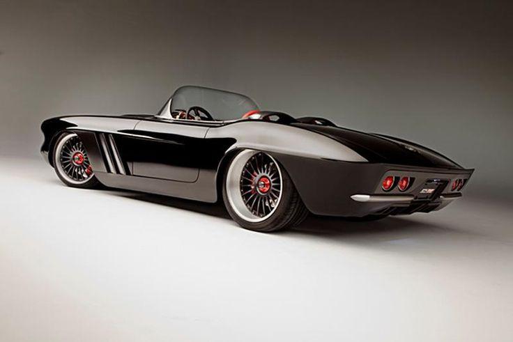 """Анонс Chevrolet Corvette C1-RS 1962 года, преобразившегося благодаря ателье """"Roadster Shop"""" — VilingStore"""