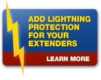 Add Lightning Protection For Your Extenders, Click here http://ethernetextender.com/ethernet-extension-products/ethernet-extension-kits/820_series.php