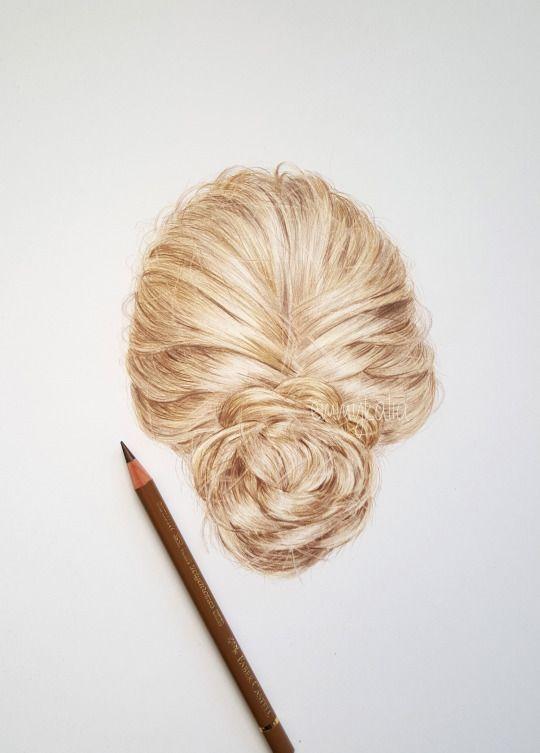 best 25 realistic hair drawing ideas on pinterest hair