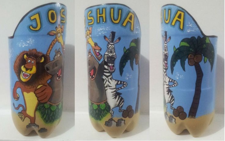 Matera con el diseño de los personajes de Madagascar