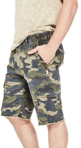 GUESS Men's Carter Camo Shorts