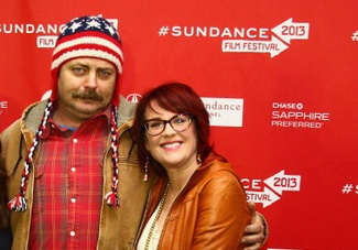 Sundance: 'Toy's House' Lovebirds Megan Mullally and Nick Offerman On Multi-Cam Vs. Single-Cam Sitcoms and How They Met