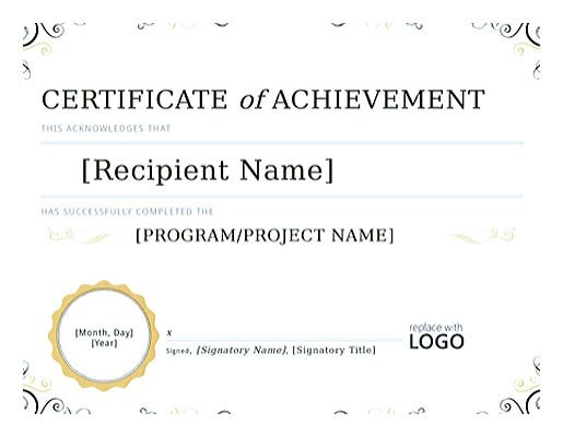 Best 25+ Certificate Of Completion Template Ideas On Pinterest   Certificate  Of Achievement Template  Certificate Of Completion Template Word