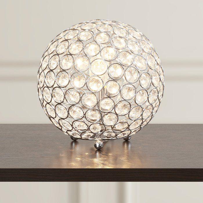 Willa Arlo Interiors Canonbury 8 Table Lamp Crystal Table Lamps Table Lamp Lamp