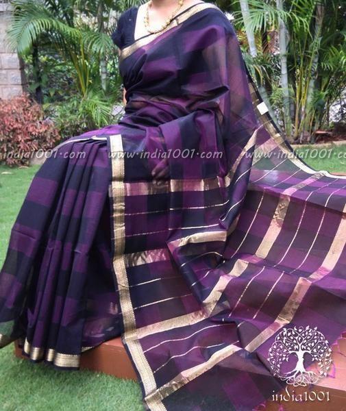 Stunning Handloom Maheshwari Saree