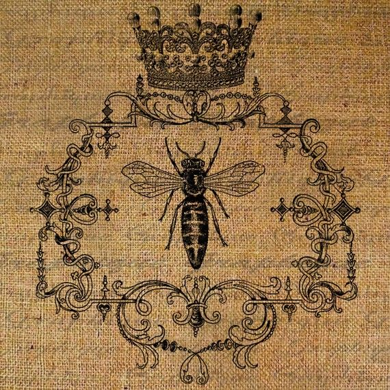 again i love this bee! the cool thing about this is they email you the image and you can use it for any project. frame it on the burlap, make a vinal sticker. I think this would be lovely on some light blue plates. endless ideas... oh wedding invites!