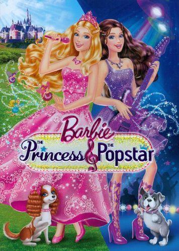 Barbie The Princess The Popstar Dvd 2012 Em 2020 Filmes