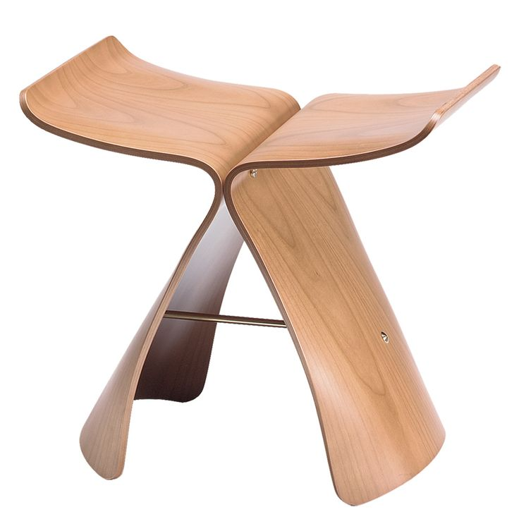 MID CENTURY MOD Butterfly Wood Stool @ dotandbo.com @ http://www.dotandbo.com/collections/best-sellers/butterfly-stool