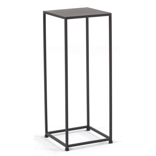 Tag furnishings group urban coco 30 inch pedestal table indoor plant stands powder room and - Plant pedestal indoor ...