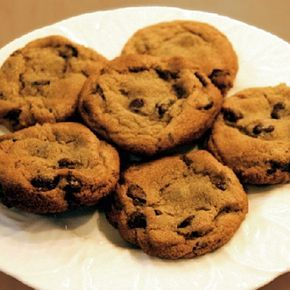 Sugar Free Chocolate Chip Cookies with Splenda-blend