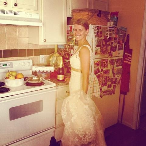 Wedding Dress Cooking