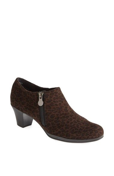 Munro 'Taylor' Leopard Print Bootie (Women) available at