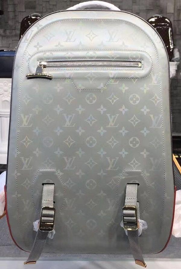 4e4113fcb661 Louis Vuitton Monogram Titanium Backpack GM M43881