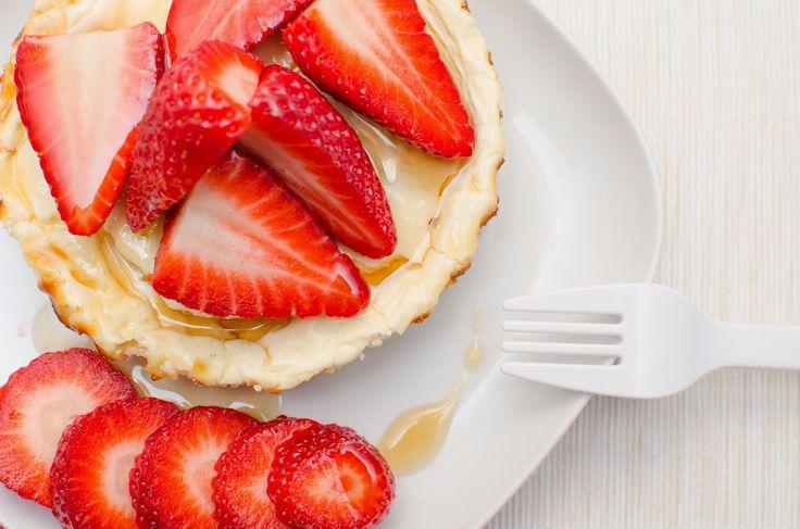 Fit Veronika: Proteinový cheesecake