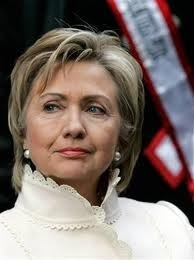 Hilary Clinton - OK - I am a die-hard Republican, but I give this woman, great respect. She deserves it on her on....but she did stand by her man which many of us can't do.