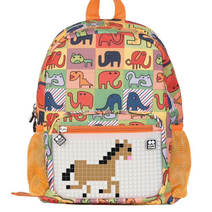 PIXIE CREW Kid´s Backpack HAPPY ZOO/GLOW IN THE DARK - Kid´s Backpacks - Backpacks  | Pixie Crew