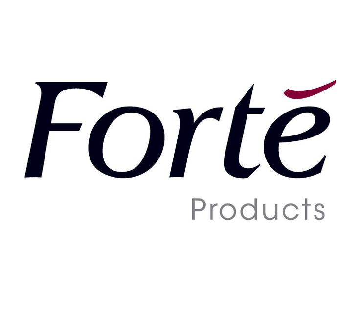Forte Products Logo Design By Identity Brand