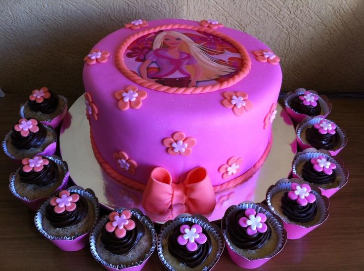 cute barbie birthday cakes 9 on cute barbie birthday cakes