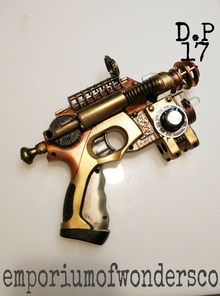 Custom Nerf Knight Finder steampunk kitbashed into a Steam Blaster visit my  Etsy store emporiumofwondersco for