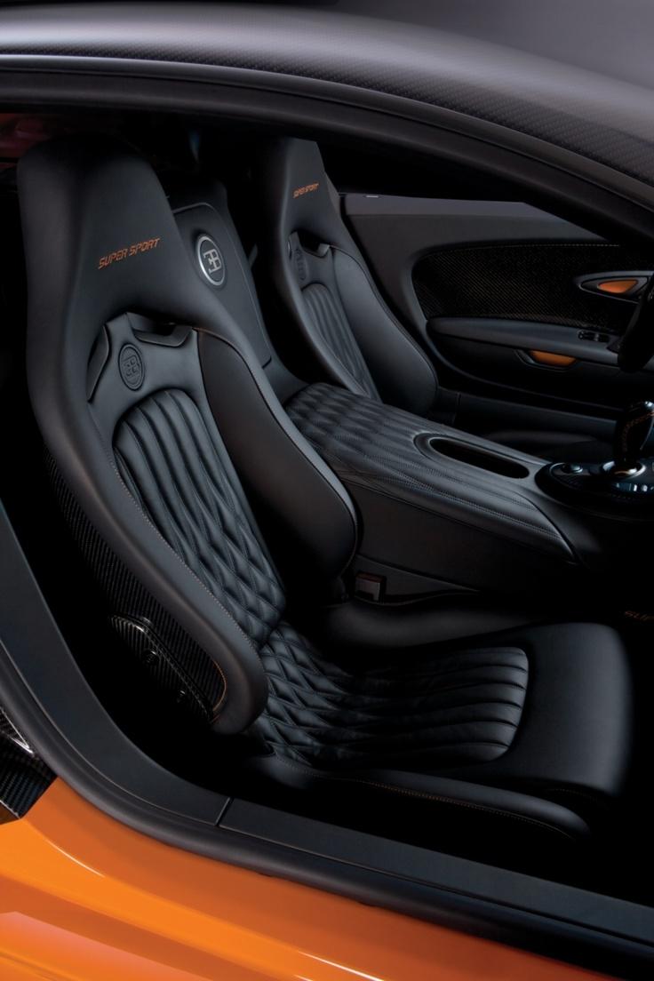 Car interior piping - Bugatti Veyron