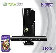 Microsoft - Xbox 360 250GB Kinect Holiday Bundle $399.99
