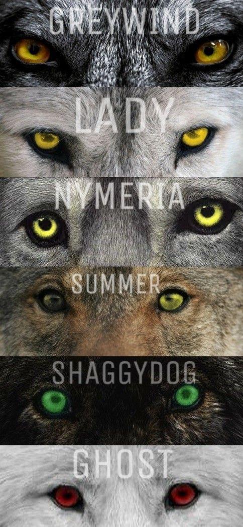 Starks direwolves